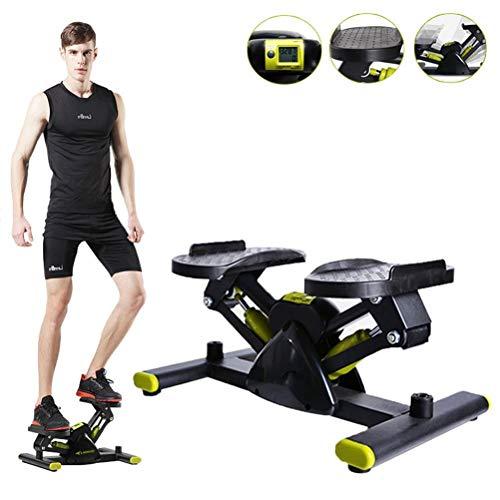 Mini Stepper, Stepper Cardio Fitness, Máquinas de Step para Fitness para Piernas y Cintura, Apto para Principiantes y Profesionales, Sin Ruido, Carga-100KG