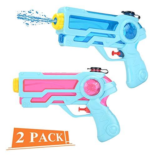 Sunshine smile wasserpistole klein,wasserpistolen Set,wasserpistole Spielzeug,wassergewehr für Erwachsene Kinder,Water Gun,Water Blaster