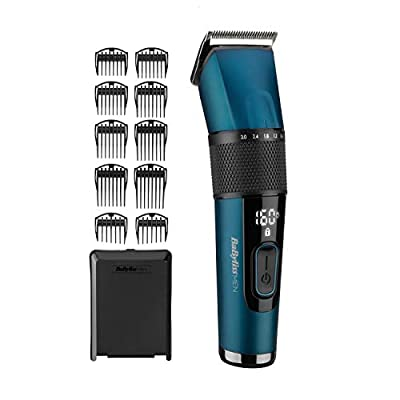 BaBylissMEN Japanese Steel Digital Hair Clipper from The Conair Group