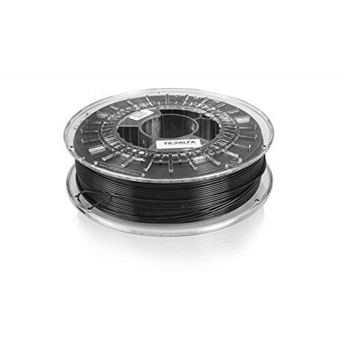 Filamento FiloAlfa 1.75mm PLA NERO 700g