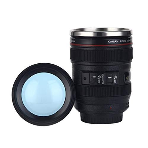 WATERCOFFEECUP+ 贈り物としてコーヒーミルク水のための400mlのカメラのレンズカップのマグカニアのEF 24-105mm F4フィルターカップ, 健康的な生活を始めましょう
