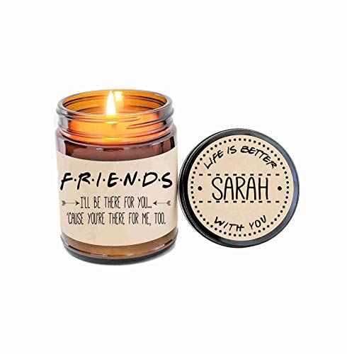 Amazon Com Best Friend Gift Friends Tv Show Candle Gift For Friend Birthday Gift Holiday Gift Christmas Gift Handmade