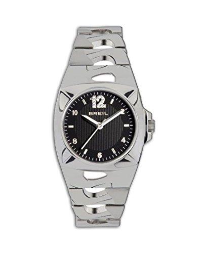 BREIL Damen Analog Klassisch Quarz Uhr mit Edelstahl Armband TW1120