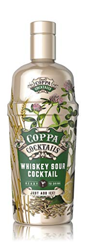 Coppa Cocktails Whiskey Sour Cocktail Ready to Drink 14.9% - 70cl
