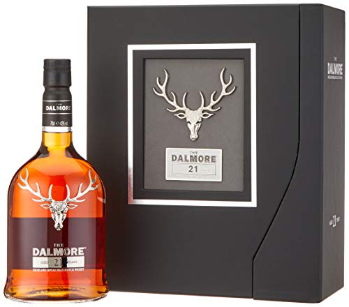 Dalmore 21 Years Old Whisky mit Geschenkverpackung (1 x 0.7 l)