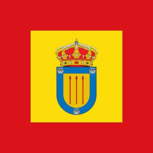 magFlags Bandera Large del municipio de Villadangos del Páramo Castilla y León | 1.35m² | 120x120cm