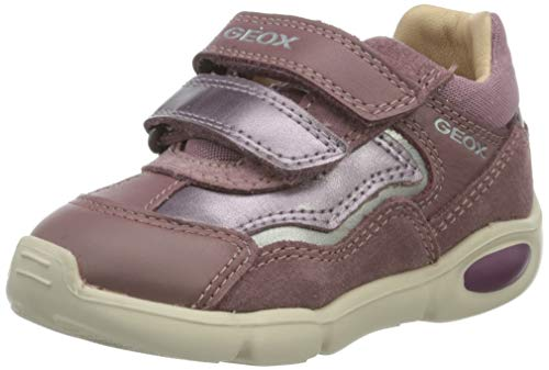 Geox Baby-Mädchen B Pillow Girl A First Walker Shoe, (Rose Smoke), 24 EU