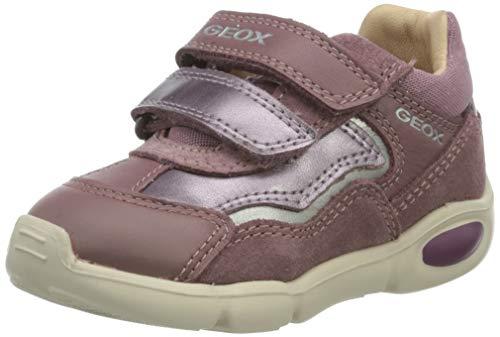 Geox Baby-Mädchen B Pillow Girl A First Walker Shoe, (Rose Smoke), 24 EU