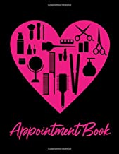 Appointment Book: Hair & Beauty Theme 8.5