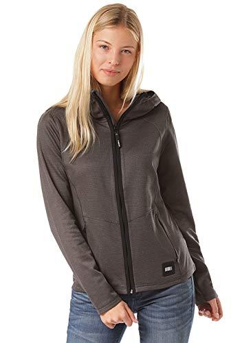 O'Neill PW Athmos Hooded Fleece-8029 Dark Grey Melee-S, Damen