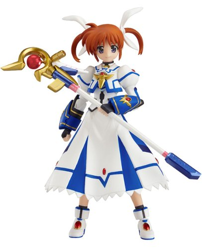 Magical Girl Lyrical Nanoha The Movie 2nd figurine Figma Nanoha Takamachi Sacred Mode 12 cm