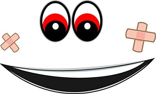 Pegatinas de ojos para robot aspirador, cortacésped, robot