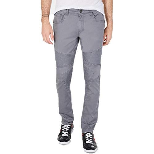 INC Mens Stockholm Denim Slim Fit Skinny Jeans Gray 36/30