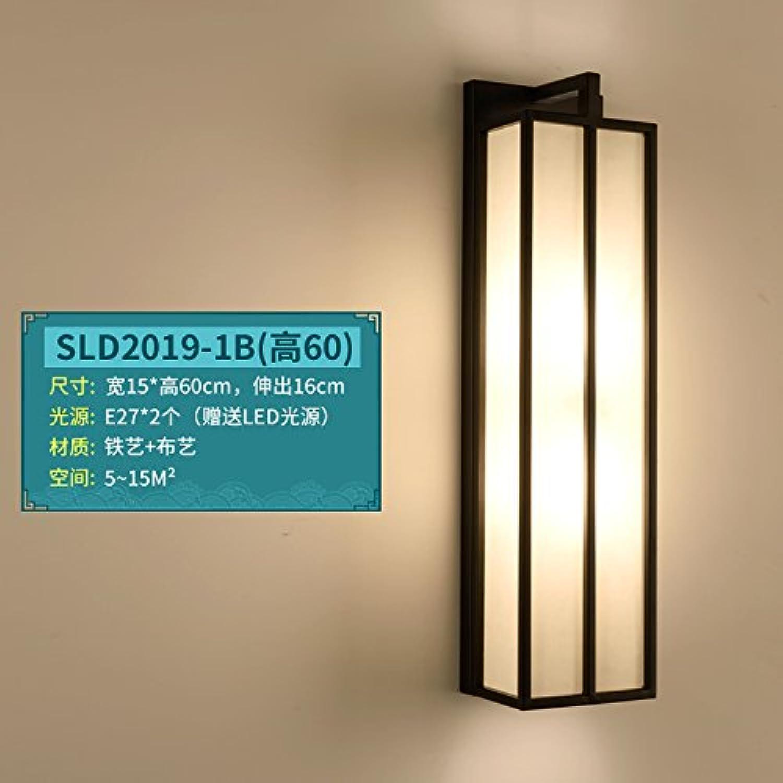 StiefelU LED Wandleuchte nach oben und unten Wandleuchten Schlafzimmer Wand lampe Nachttischlampe Wohnzimmer Wnde Road Hotel balkon Flur Licht, SLD 2019-1 B (60 cm)
