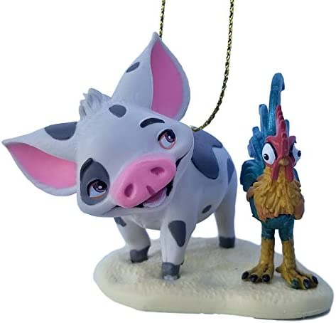 Moana pig and rooster