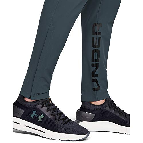 Under Armour Herren Hose Storm Launch Linked Up Pant, Grau, M, 1346550-073