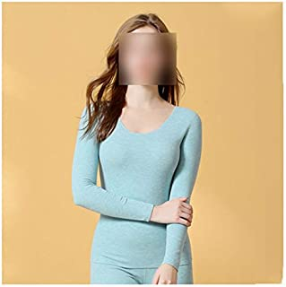 Lingerie Sets Thermal underwear women plus velvet thick seamless winter bottoming shirt suit comfortable without ball anti...