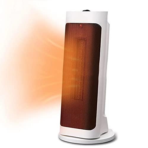 SABYDICAR Calentadores de baño Verticales,Calentador de Ventilador eléctrico de cerámica PTC,Aire Acondicionado de Calentamiento oscilante de 70°,2 configuraciones de Calor,2000W, Calentador de Aire
