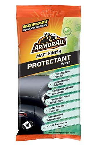 ARMOR ALL Kunststoffpflegetücher 20 Stk. Seidenmatt Dashboard Wipes Matt Finish, 35020L
