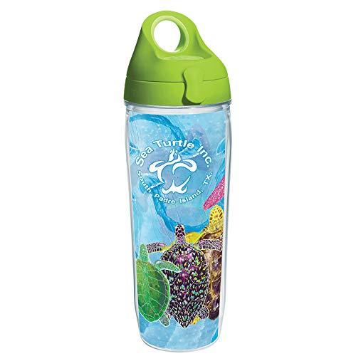 Tervis Sea Turtle Multi Bicchiere Isolato, Plastica, Trasparente-Tritan