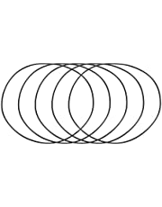 YeVhear Nitril rubber O-ringen buitendiameter 135 mm 131 mm di-breedte 2 mm metrische afdichting Buna-N 5 stuks