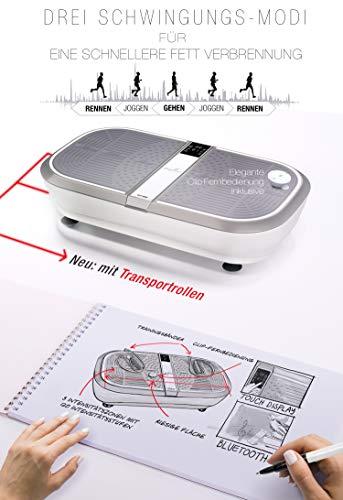 Sportstech Profi Vibrationsplatte VP300 mit 3D Wipp Vibrations Technologie - 7
