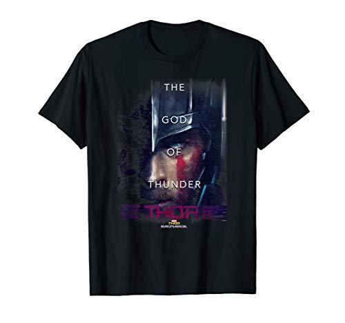 Marvel Thor: Ragnarok Thor God Of Thunder Poster T-Shirt