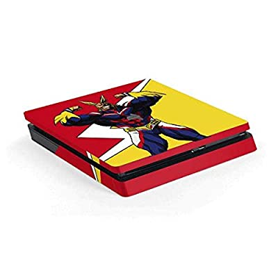 Skinit Decal Gaming Skin for PS4 Slim - Officially Licensed Funimation All Might Design