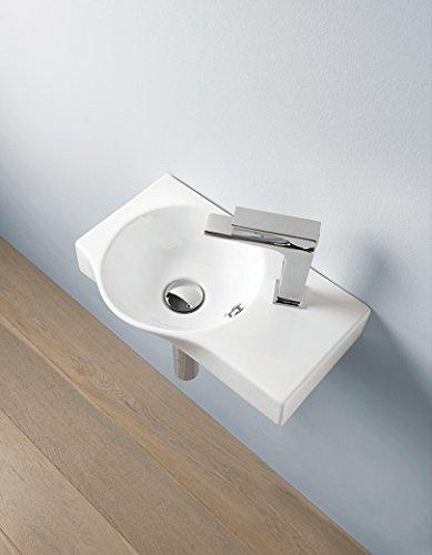Lavabo lavabo lavabo diseño pequeño Union de cerámica 43 x 27 cm