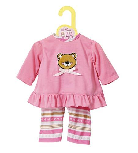 Zapf Creation 870075 Dolly Moda Pyjamas, Puppenkleidung 39-46 cm