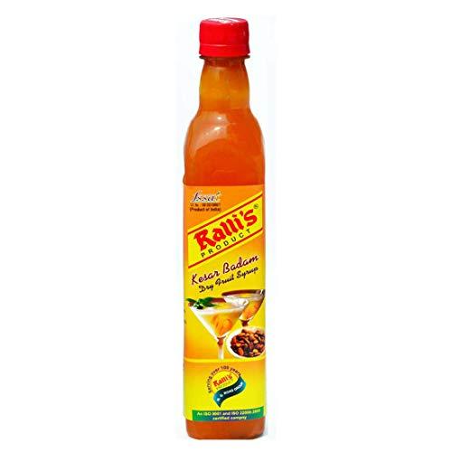 Ralli's Kesar Badam Syrup 500ml.