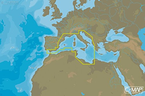 C-MAP MAX de N Wide – South de West European Coasts – μsd/SD ...