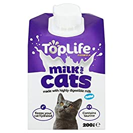 TopLife Lactose Reduced Cows Milk for Cats 200ml