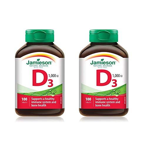 Jamieson 18141 Vitamina D3 1000 Ui (2 confezioni (200 cpr))