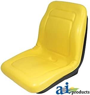 Replacement Seat for John Deere Gator CX, E, TURF, TE TURF ELECTRIC, TH TURF, TH 6X4 DIESEL, TX 4X2, TX 4X2 TURF, XUV 850D Diesel, XUV 620I Gator Deluxe High Back Seat Vinyl Waterproof