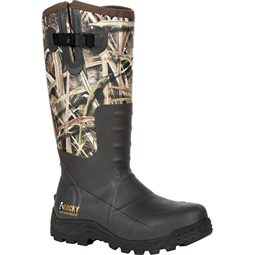 Rocky Sport Pro Pull-On Rubber Snake Boot Size 10(M)
