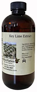 OliveNation Pure Key Lime Extract - 4 ounces - Perfect for candies, key lime pie, cookies, salad dressings and marinades -...