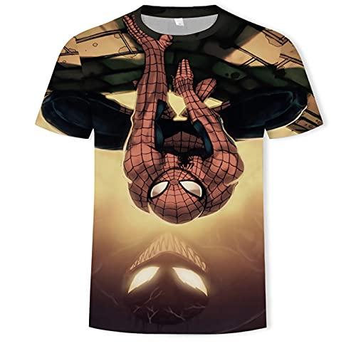 Camisetas 3D unisex Camiseta casual para hombre Camiseta larga de running Motion para hombre Camiseta de Navidad para hombre - Cuello redondo para chicos, para el hogar o el gimnasio Camis(Size:4XL)