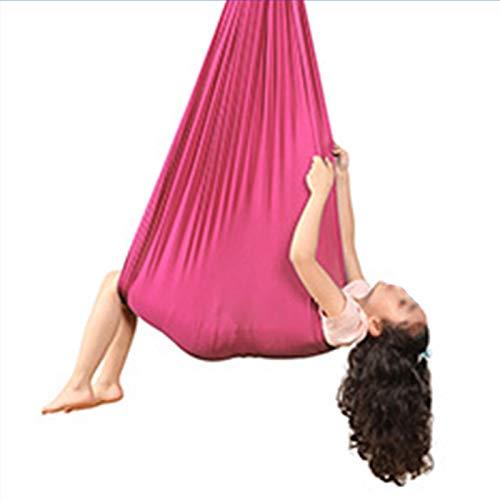 WWL Columpio terapia interior niños adolescentes Columpio de terapia interior Columpio Estiramiento interior de nailon duradero Columpio práctico para niños Hamaca de yoga universal Hamaca de entrenam