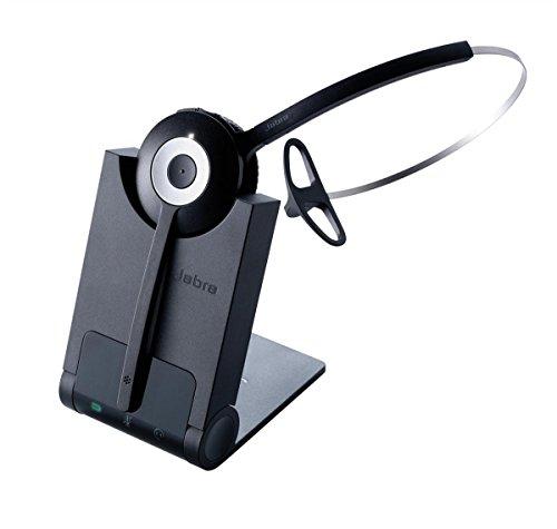 Jabra Pro 920 EMEA - Auriculares con micrófono (Centro de Llamadas/Oficina, Monoaural, Diadema, DECT, Inalámbrico, 120m)