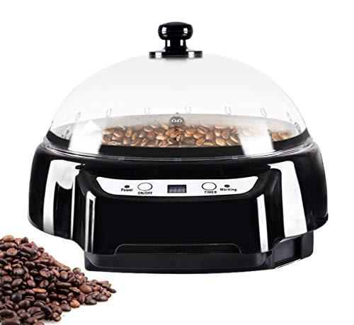 YUCHENGTECH Tostadora eléctrica de granos de café tostadora de granos de café para el hogar con función de sincronización 500g 1200W