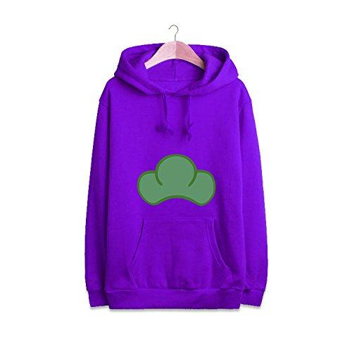 Sunkee Japonais Manga SIX SAME FACES Konya wa Saikou Mr.Osomatsu San ED Anime bonbons colorés Jacket Hoodie Sweater ( Vous pouvez choisir la taille correcte selon le tableau des tailles sur l'Amazone) (L, Violet)