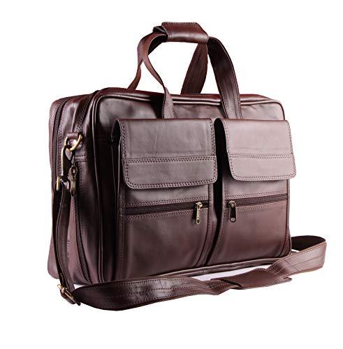 Carry Me Bolso de mensajero para hombre, de 15 pulgadas, estilo vintage,...