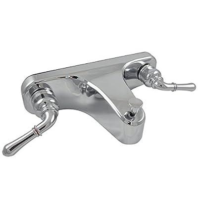 "Danco Mobile Home Off-Set Tub/Shower Faucet 8"", Chrome, 10884X"
