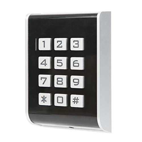 Tomanbery Seguro y confiable Ultra bajo Consumo de energía Alarma Anti-desmontaje a Prueba de palancas Fácil operación Control de Acceso a la Puerta Systerm 13.56MHZ para Wiegand26
