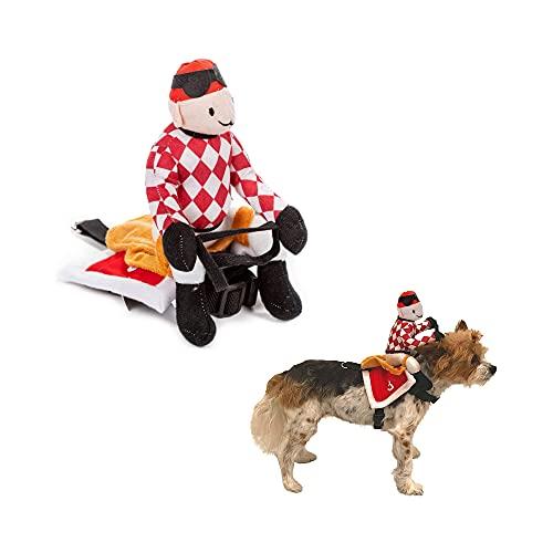 Midlee Red Jockey Dog Costume (Medium)