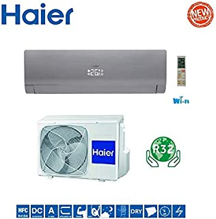 Aire acondicionado Haier Nebula Green Grey Inverter AS35S2SN3FA 12000 BTU A+++ R-32 WI-FI