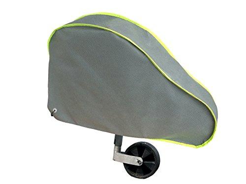Car-e-Cover, Deichselschutz, Deichselhaube,neongelbe reflektierende Bänder, Grosse Ausführung, passt mit Kastenschloss