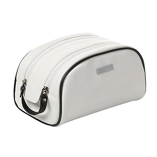 Aufbewahrungstasche PU Lady Kosmetiktasche Große Kapazität Reisen Camping Portable Wash Bag...