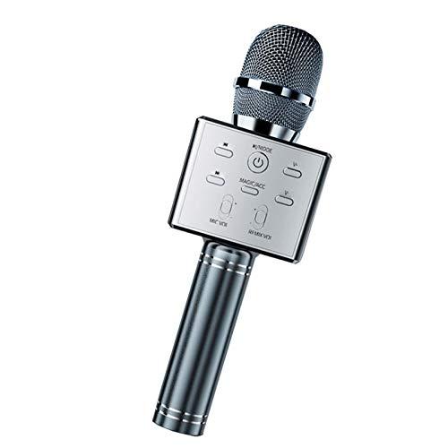 Micrófono De Karaoke Inalámbrico Con Bluetooth, Altavoz De Micrófono De Karaoke Portátil De Mano, Fiesta De Cumpleaños Navideña En Casa Para IOS Android, Un Gran Regalo Para Niños O Amigos